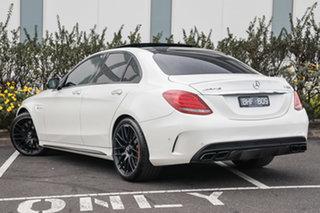 2016 Mercedes-Benz C-Class W205 807MY C63 AMG SPEEDSHIFT MCT S Diamond White Bright 7 Speed.
