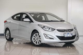 2014 Hyundai Elantra MD3 Trophy Silver 6 Speed Sports Automatic Sedan.