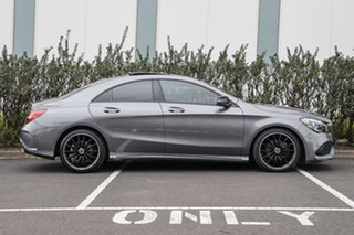 2018 Mercedes-Benz CLA-Class C117 809MY CLA200 DCT Mountain Grey 7 Speed