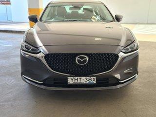 2018 Mazda 6 GL1032 GT SKYACTIV-Drive Black 6 Speed Sports Automatic Sedan.