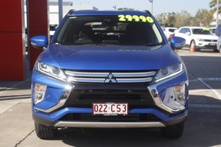 2019 Mitsubishi Eclipse Cross YA MY19 LS 2WD Blue 8 Speed Constant Variable Wagon