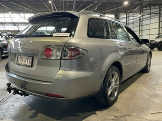 2007 Mazda 6 GY10R2 MZR-CD Grey 6 Speed Manual Wagon.