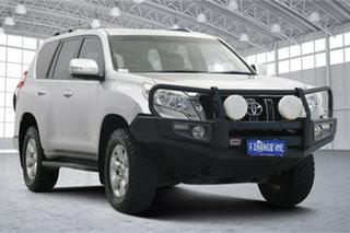 2015 Toyota Landcruiser Prado KDJ150R MY14 GXL Silver 5 Speed Sports Automatic Wagon.