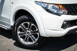2016 Mitsubishi Triton MQ MY16 GLX Double Cab 4x2 White 5 Speed Sports Automatic Utility.