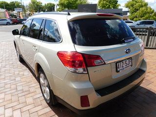 2012 Subaru Outback B5A MY12 2.5i Lineartronic AWD Sunlight Gold D6h 6 Speed Constant Variable Wagon