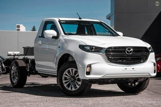 2021 Mazda BT-50 TFR40J XT 4x2 White 6 Speed Sports Automatic Cab Chassis.