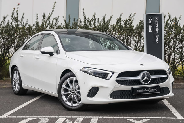 Certified Pre-Owned Mercedes-Benz A-Class V177 801+051MY A180 DCT Mulgrave, 2021 Mercedes-Benz A-Class V177 801+051MY A180 DCT Polar White 7 Speed Sports Automatic Dual Clutch