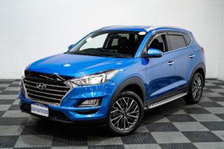 2020 Hyundai Tucson TL3 MY20 Elite 2WD Blue 6 Speed Automatic Wagon.