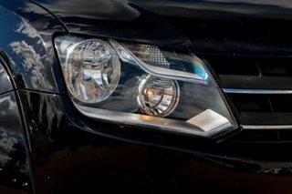 2012 Volkswagen Amarok 2H MY13 TDI420 4Motion Perm Highline Black 8 Speed Automatic Utility
