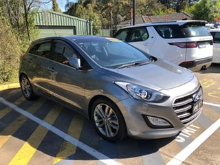 2017 Hyundai i30 GD3 Series II MY17 Premium DCT Silver 7 Speed Sports Automatic Dual Clutch.