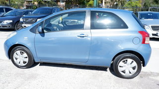 2006 Toyota Yaris NCP90R YR Blue 5 Speed Manual Hatchback