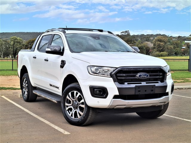 Used Ford Ranger PX MkIII 2019.00MY Wildtrak St Marys, 2019 Ford Ranger PX MkIII 2019.00MY Wildtrak White 10 Speed Sports Automatic Double Cab Pick Up