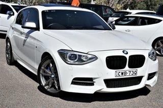 2014 BMW 1 Series F20 MY1113 M135i White 8 Speed Sports Automatic Hatchback.
