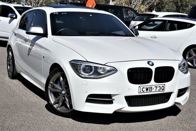 Used BMW 1 Series F20 MY1113 M135i Phillip, 2014 BMW 1 Series F20 MY1113 M135i White 8 Speed Sports Automatic Hatchback