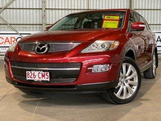 2008 Mazda CX-9 TB10A1 Luxury Red 6 Speed Sports Automatic Wagon.