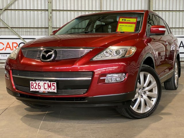 Used Mazda CX-9 TB10A1 Luxury Rocklea, 2008 Mazda CX-9 TB10A1 Luxury Red 6 Speed Sports Automatic Wagon