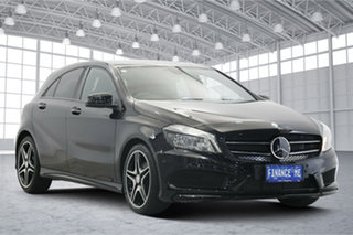 2014 Mercedes-Benz A-Class W176 A200 DCT Black 7 Speed Sports Automatic Dual Clutch Hatchback.