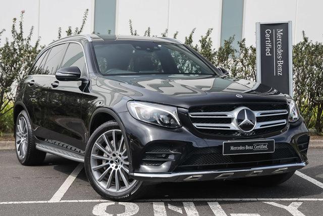 Certified Pre-Owned Mercedes-Benz GLC-Class X253 807MY GLC250 d 9G-Tronic 4MATIC Mulgrave, 2017 Mercedes-Benz GLC-Class X253 807MY GLC250 d 9G-Tronic 4MATIC Obsidian Black 9 Speed
