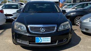 2007 Holden Statesman WM Black 5 Speed Sports Automatic Sedan.