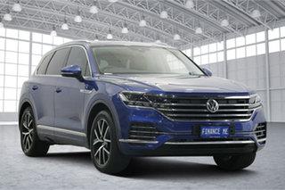2019 Volkswagen Touareg CR MY19 190TDI Tiptronic 4MOTION Launch Edition Reef Blue Metallic 8 Speed.