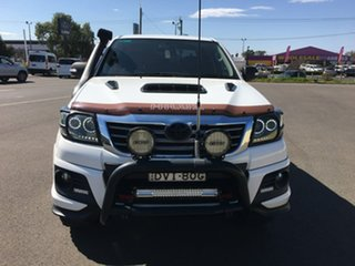 2014 Toyota Hilux KUN26R Black Limited Edition White Automatic.
