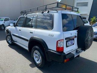 2004 Nissan Patrol GU IV MY05 ST White 4 Speed Automatic Wagon.