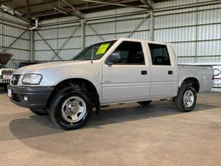2001 Holden Rodeo TF MY01 LT Crew Cab 4x2 Silver 4 Speed Automatic Utility.