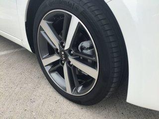 2017 Kia Cerato YD MY18 Sport+ White 6 Speed Sports Automatic Sedan
