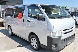 2016 Toyota HiAce KDH201R Silver 4 Speed Automatic Van Wagon