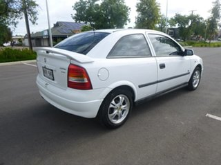 2002 Holden Astra TS City White 4 Speed Automatic Hatchback