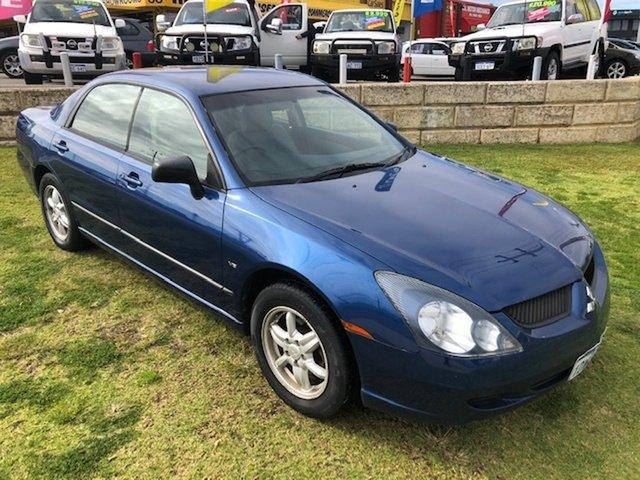 Used Mitsubishi Magna TW ES Wangara, 2005 Mitsubishi Magna TW ES Blue 4 Speed Sports Automatic Sedan