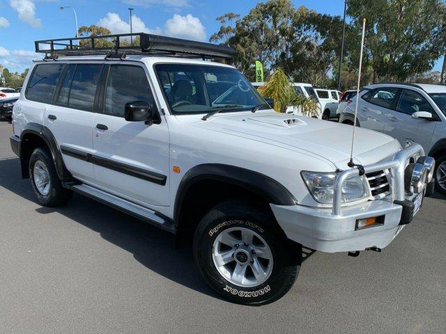 Used Nissan Patrol GU IV MY05 ST Bunbury, 2004 Nissan Patrol GU IV MY05 ST White 4 Speed Automatic Wagon