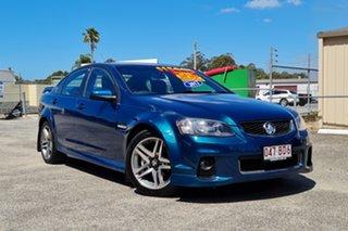 2012 Holden Commodore VE II MY12 SV6 Blue 6 Speed Sports Automatic Sedan.