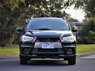 2012 Mitsubishi ASX XA MY12 Activ 2WD Black 5 Speed Manual Wagon.