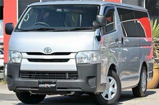 2016 Toyota HiAce KDH201R Silver 4 Speed Automatic Van Wagon.