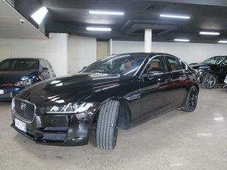 2016 Jaguar XE X760 MY16 25t Portfolio Black 8 Speed Sports Automatic Sedan.