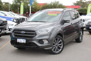 2018 Ford Escape ZG 2019.25MY ST-Line Grey 6 Speed Sports Automatic SUV.
