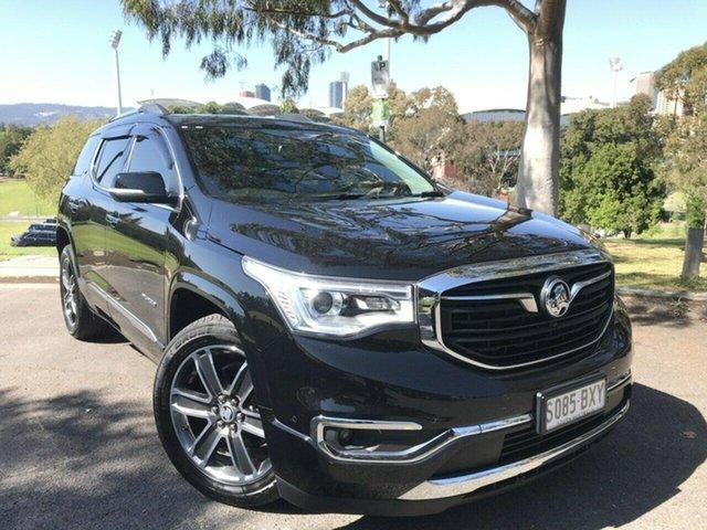 Used Holden Acadia AC MY19 LTZ-V AWD Adelaide, 2018 Holden Acadia AC MY19 LTZ-V AWD Black 9 Speed Sports Automatic Wagon