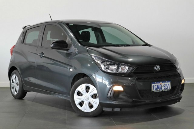 Used Holden Spark MP MY18 LS Bayswater, 2018 Holden Spark MP MY18 LS Grey 1 Speed Constant Variable Hatchback