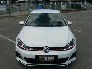 2018 Volkswagen Golf AU MY18 Update GTi White 6 Speed Manual Hatchback