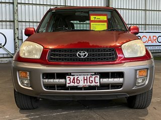 2003 Toyota RAV4 ACA21R Cruiser Red 4 Speed Automatic Wagon