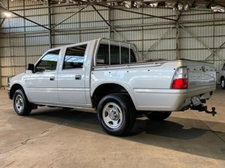 2001 Holden Rodeo TF MY01 LT Crew Cab 4x2 Silver 4 Speed Automatic Utility