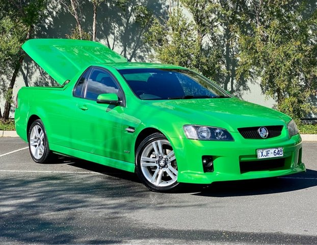 Used Holden Ute VE MY10 SV6 Thomastown, 2009 Holden Ute VE MY10 SV6 Green 6 Speed Sports Automatic Utility