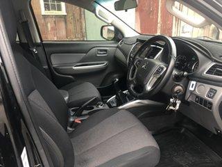 2018 Mitsubishi Triton MR MY19 GLS Double Cab Black 6 Speed Manual Utility