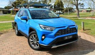 2020 Toyota RAV4 Mxaa52R Cruiser 2WD Blue 10 Speed Constant Variable Wagon.