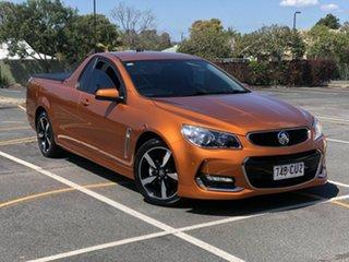 2017 Holden Ute VF II MY17 SV6 Ute Orange 6 Speed Sports Automatic Utility.