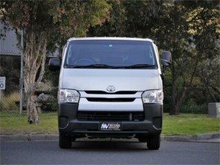 2016 Toyota HiAce KDH201V DX Silver 4 Speed Automatic Van.