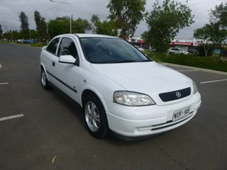 2002 Holden Astra TS City White 4 Speed Automatic Hatchback.