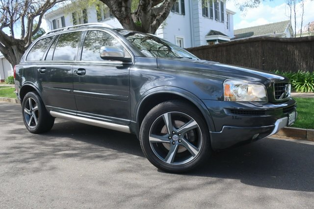 Used Volvo XC90 P28 MY13 D5 Geartronic R-Design Prospect, 2012 Volvo XC90 P28 MY13 D5 Geartronic R-Design Grey 6 Speed Sports Automatic Wagon