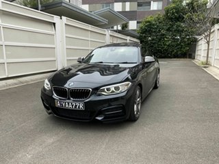 2016 BMW 2 Series F22 M240I Black 8 Speed Sports Automatic Coupe